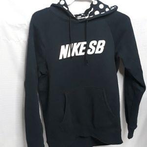 NIKE SB pockadot pullover hoodie